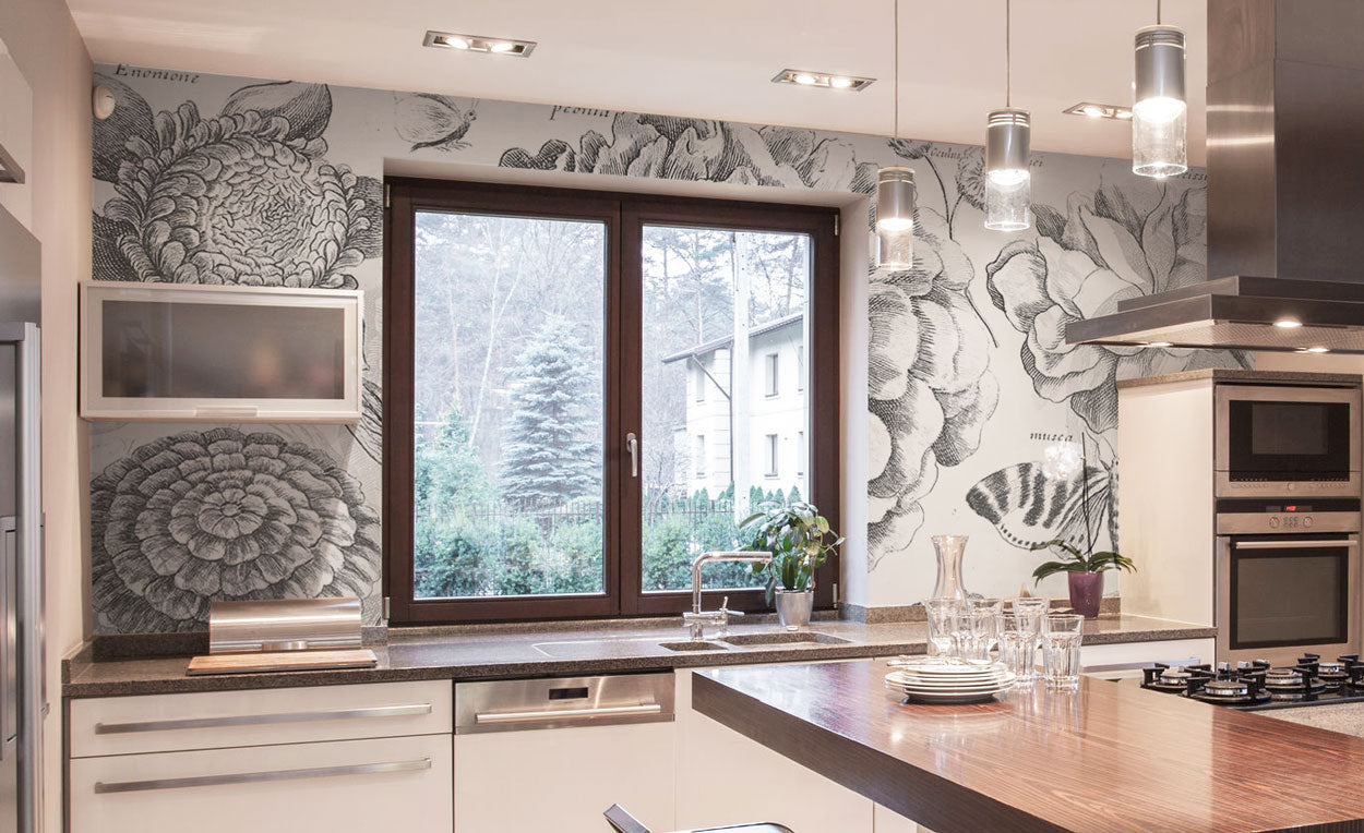 Kitchen Wall Murals Eazywallz