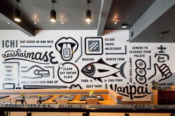 Custom Mural Wall Painting Retro Streets Japanese Style Restaurant Sushi Shop Background Wall Decorative Wallpaper For The Wall Home Improvement