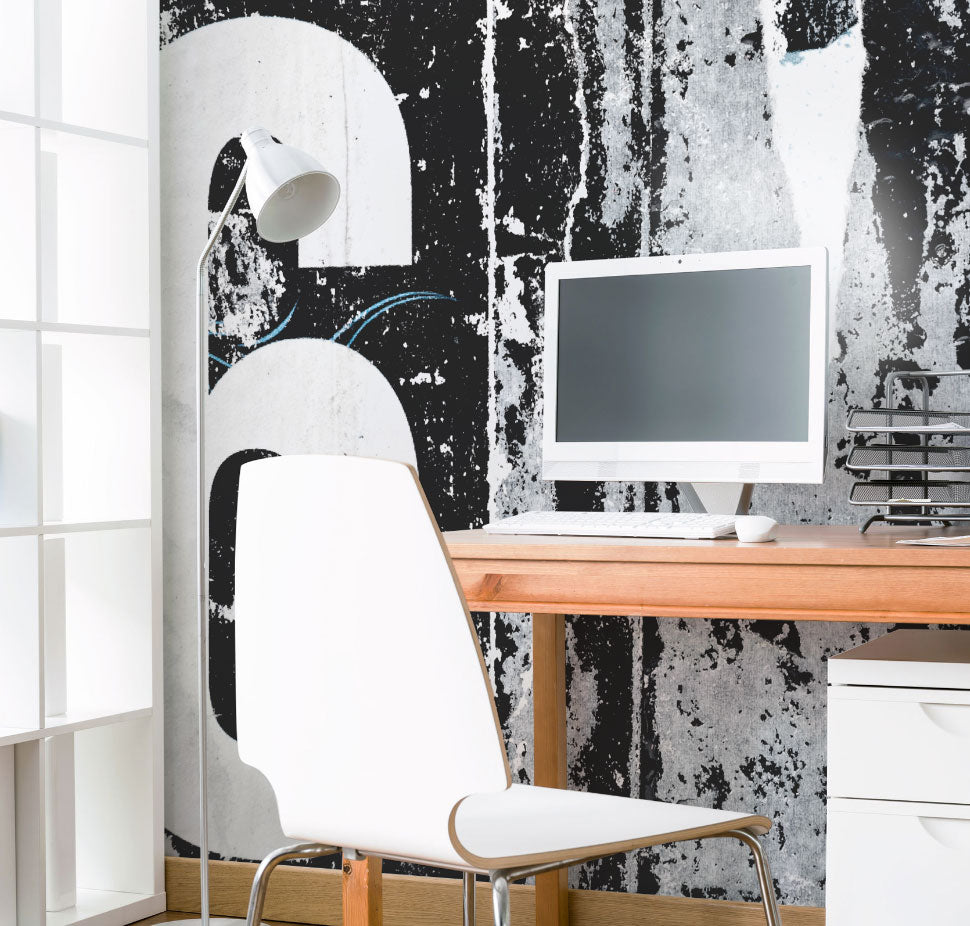 Home Office Wall Murals Eazywallz