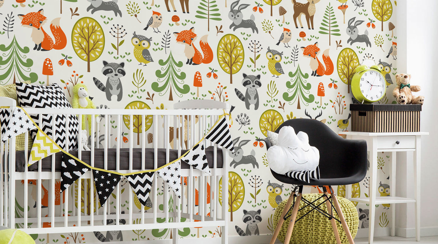 Nursery wall murals eazywallz nursery wall murals amipublicfo Image collections