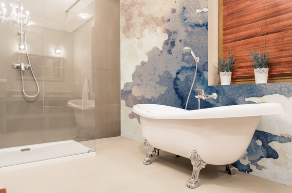 5 Ways To Spruce Up Your Rental Bathroom With Removable Wallpaper Eazywallz