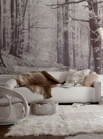forest wall murals eazywallz wallpaper trees nature