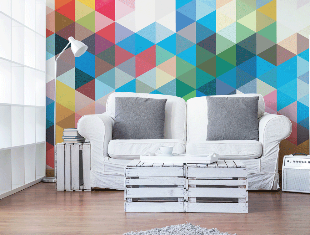 colourful-abstract-wall-mural