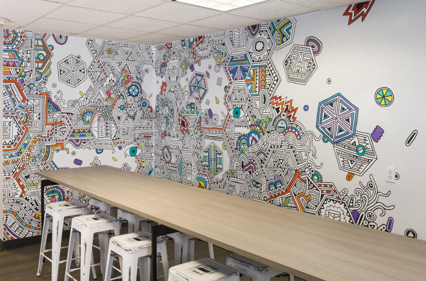 Wall Murals for businesses boardroom wallpaper for office eazywallz
