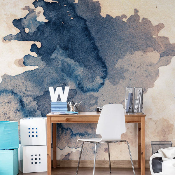 WATER COLOUR WALL MURAL