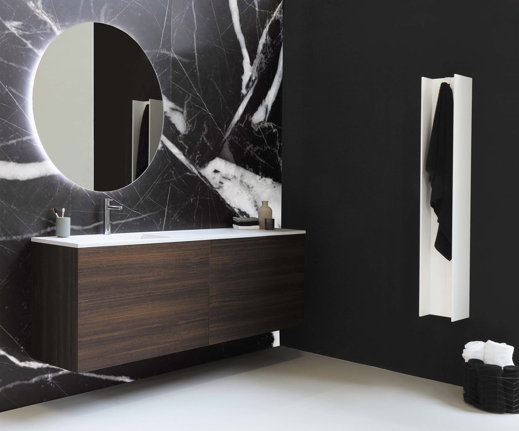 marble black wallpaper mural