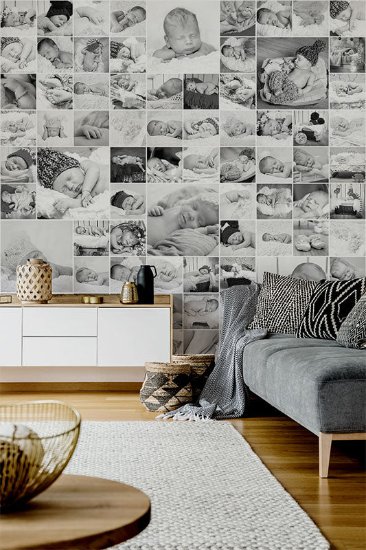 accent wall mural and wallpaper ideas for bedroom living room