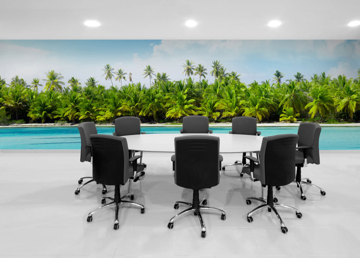 6 ideas for a better boardroom eazywallz for Corporate mural