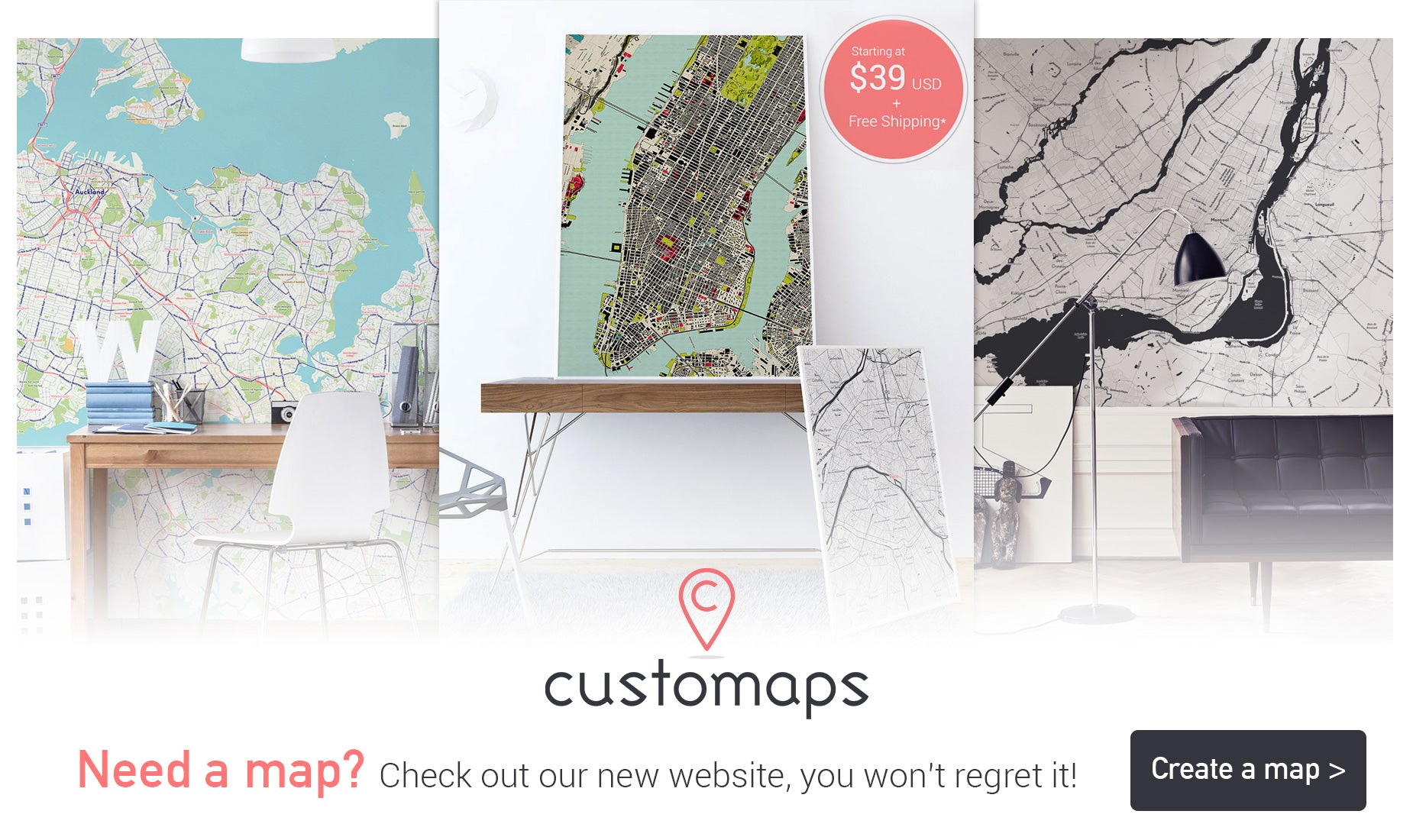 Maps Wall Murals Maps Removable Wallpaper Eazywallz - Cant find us on map