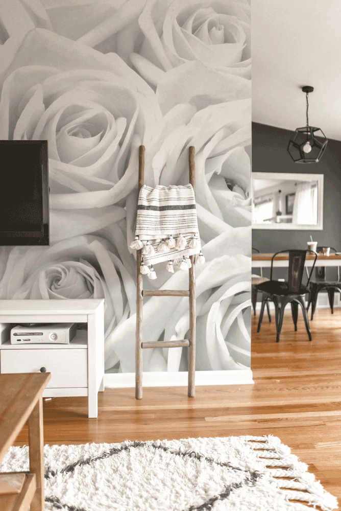 eazywallz wall mural wallpaper roses custom wall murals