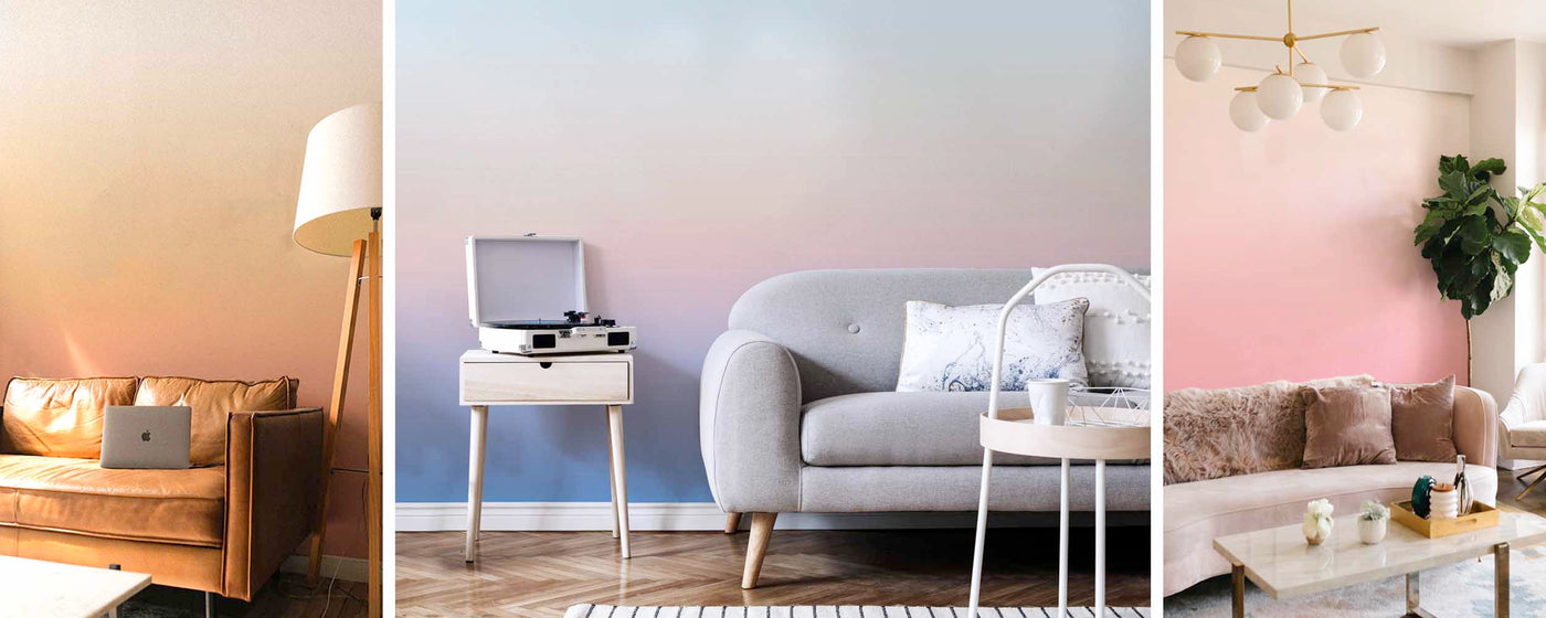 new ombre removable wallpaper murals