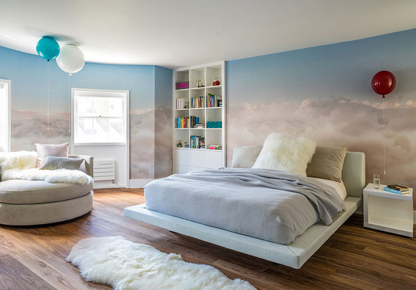 clouds wall mural eazywallz tips for your home