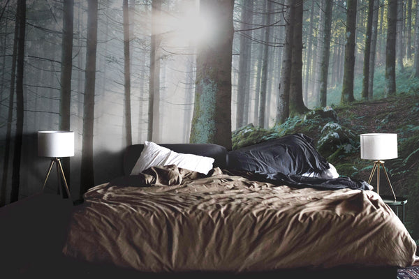 Genial Forest Wall Mural Wallpaper Nature Bedroom
