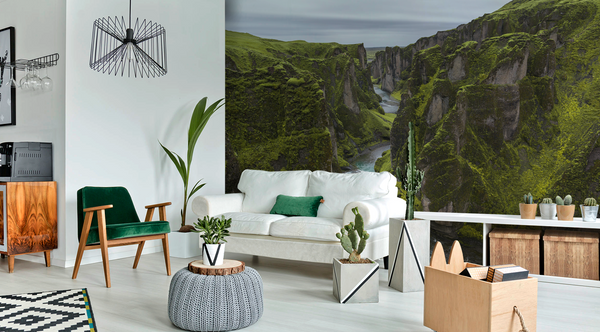Iceland Canyon Wall Mural