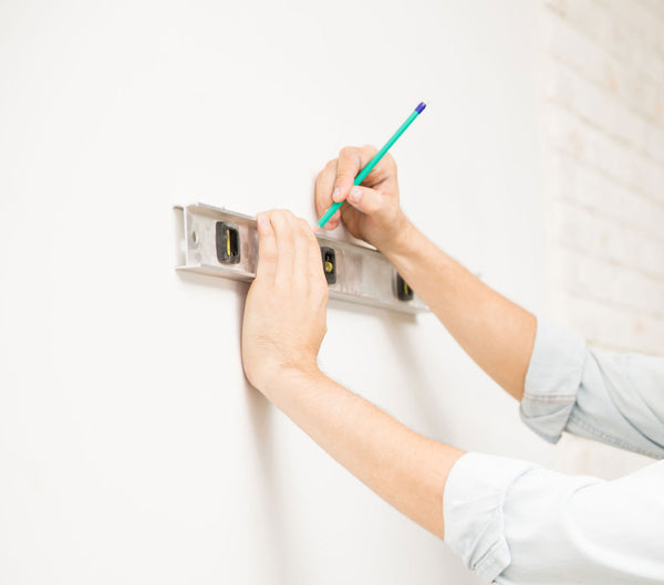 level wall mural install tip 7