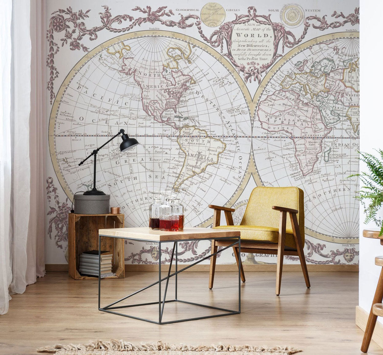 Living Room Wall Murals | Eazywallz