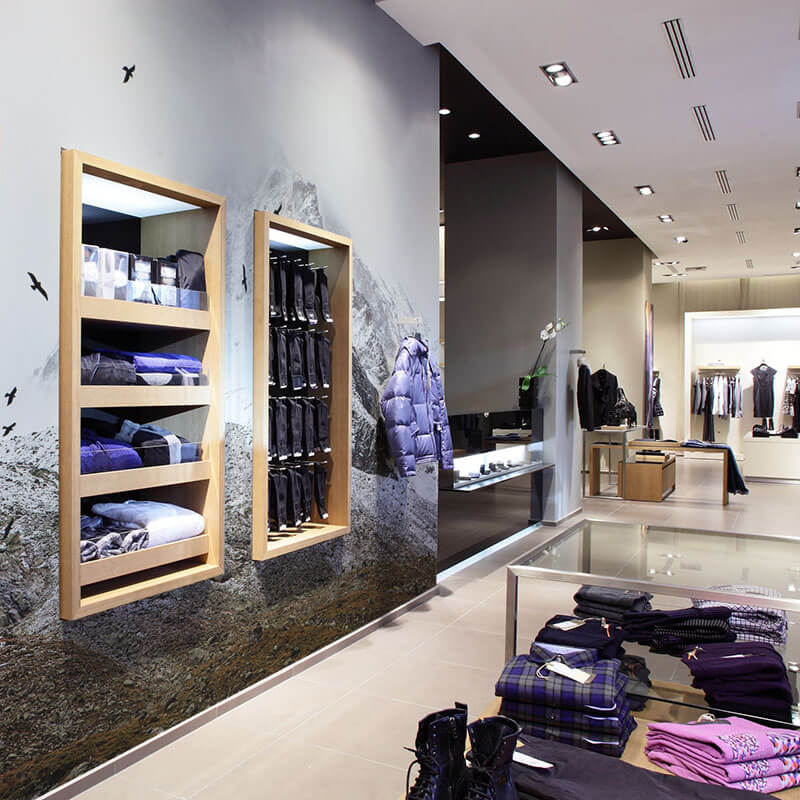 Wall Murals For Retail Stores Business Wall Murals