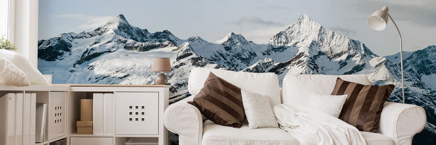 Mountain Wall Murals Removable Photo Wallpaper Eazywallz
