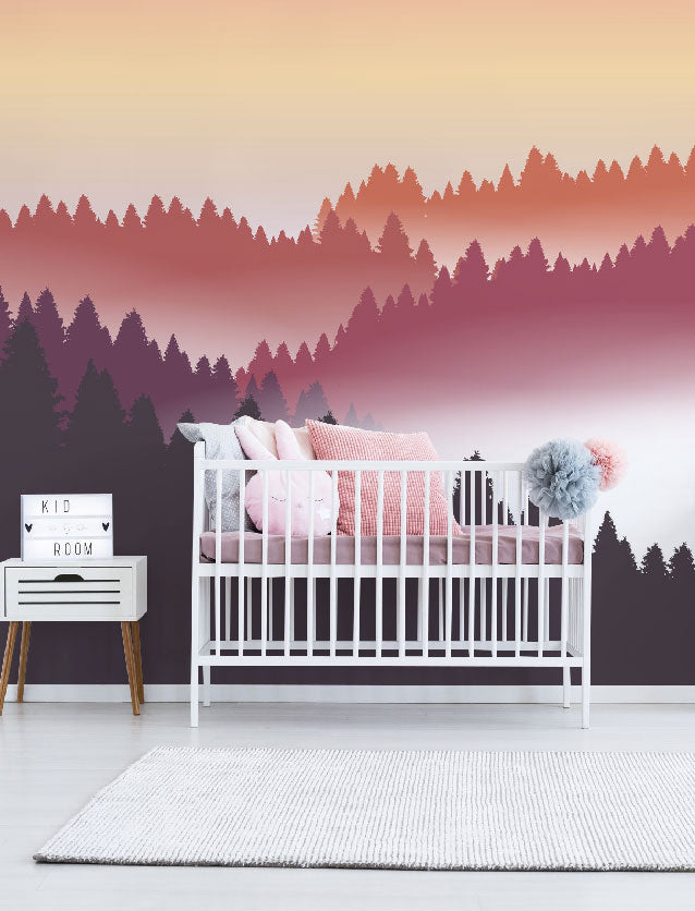 Nursery Wall Murals Children Kids Wallpaper Eazywallz