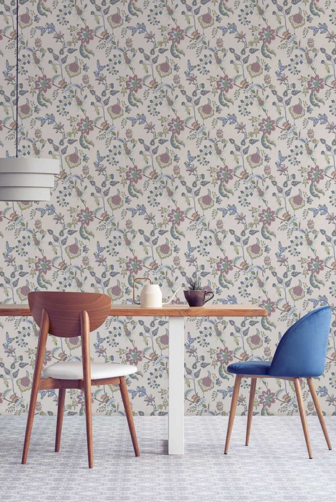 traditional peel and stick wallpaper