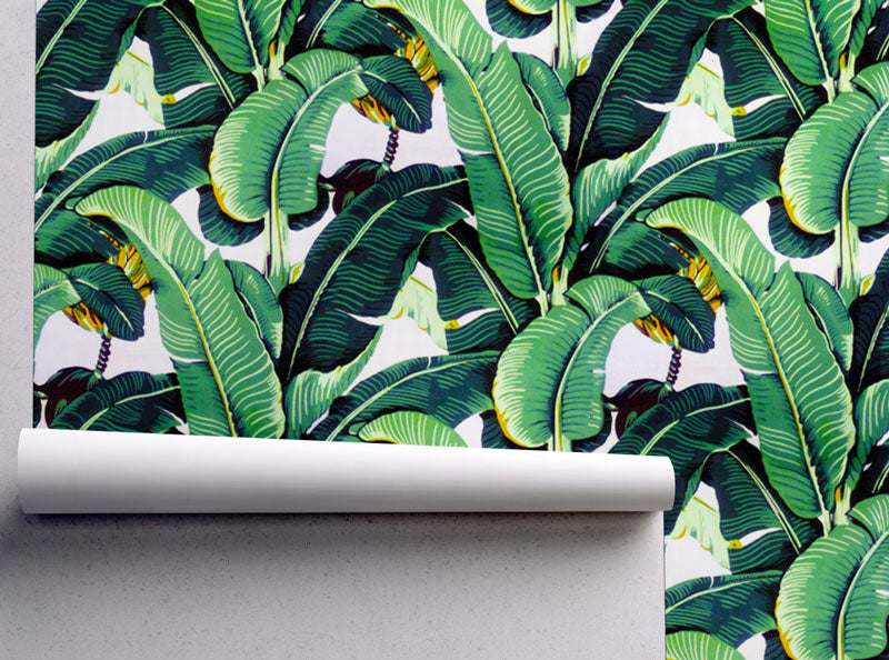 banana leaf beverely hills wallpaper removable