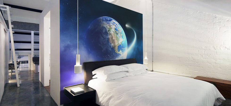 space wall murals earth wall murals eazy wallz earth from space wall mural photographic