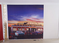 Eazywallz wall mural customer example 12