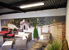 Eazywallz wall mural customer example 14