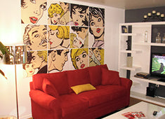 Eazywallz wall mural customer example 19