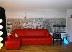 Eazywallz wall mural customer example 2