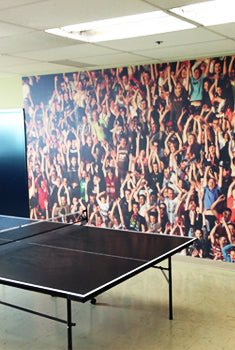 Eazywallz wall mural customer example 9