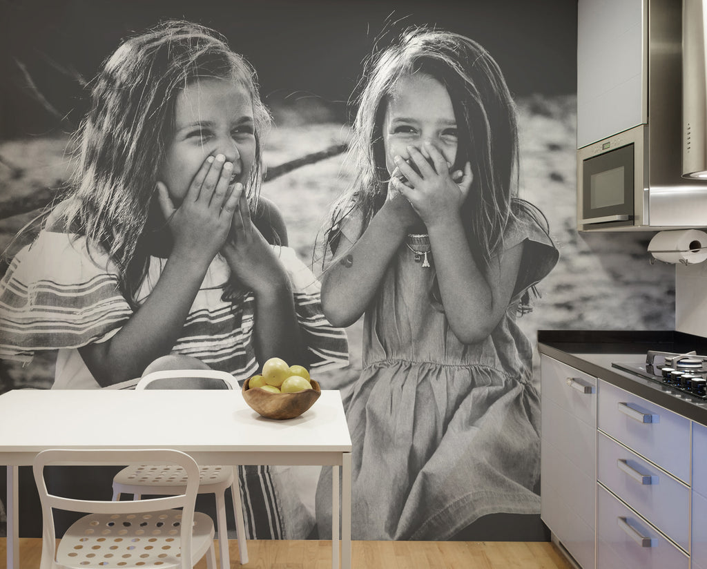 upload wall mural kitchen design art wall