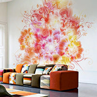Digital Art Wall Mural