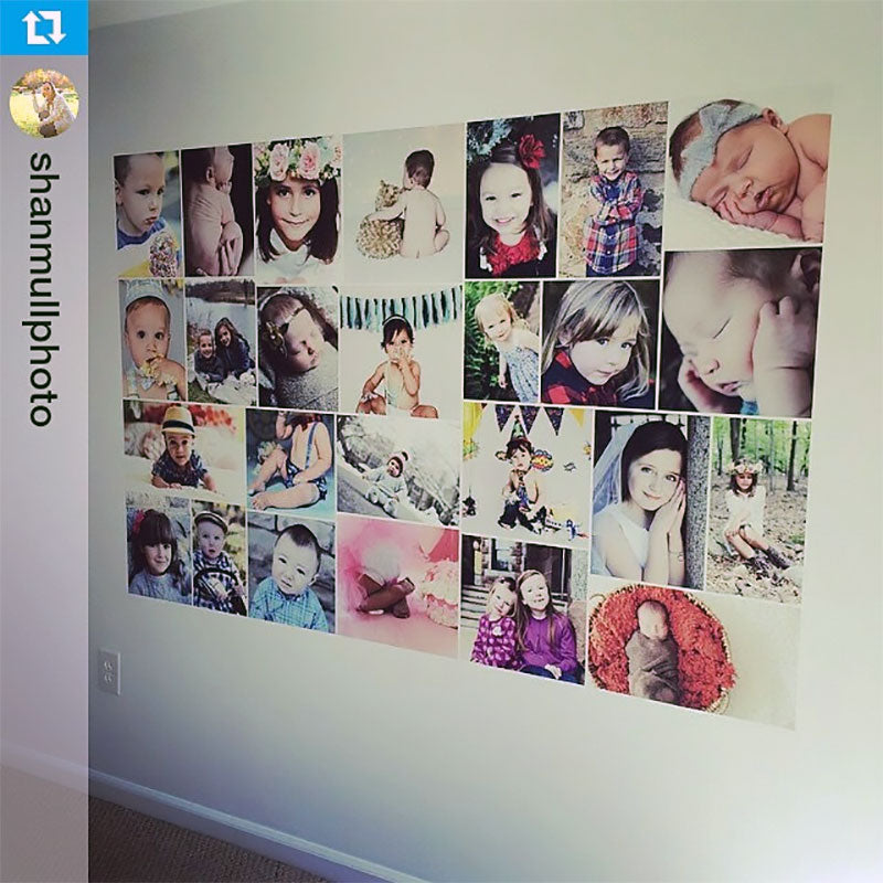 Inspiration ideas wall mural ideas custom projects for Collage mural ideas
