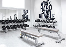 Wellness Center Wall Mural