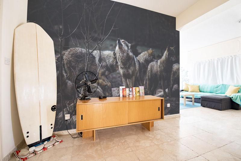wolves in the wild wallpaper removable wall mural peel and stick