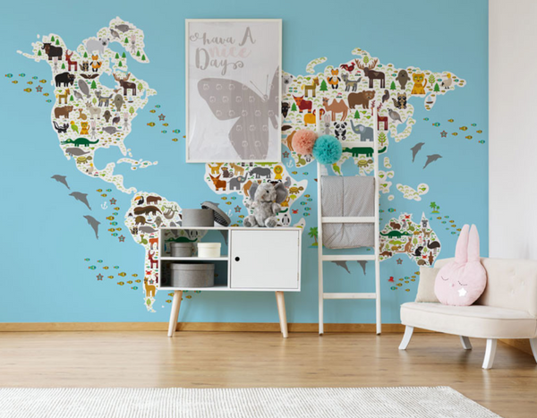 . 15 Cute Wall Mural Ideas To Inspire Your Next Kid s Room Makeover
