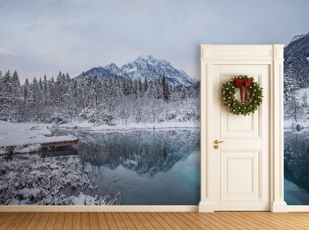 5 Winter Wall Murals That Will Leave Your Guests on Christmas Amazed