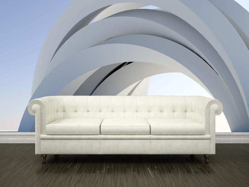 Abstract arch Wall Mural-Abstract,Buildings & Landmarks,Category Details-Eazywallz