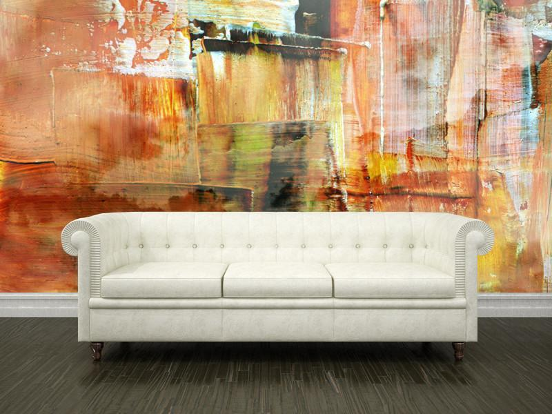 Nice ... Abstract Art Wall Mural Abstract Eazywallz ... Part 30