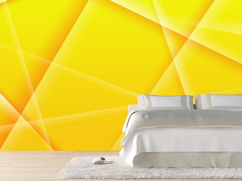 Abstract background of yellow color Wall Mural-Abstract,Modern Graphics-Eazywallz