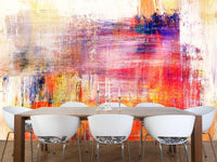 Abstract painting Wall Mural-Abstract-Eazywallz