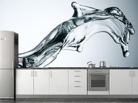Abstract splash of water Wall Mural-Abstract,Food & Drink-Eazywallz