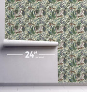 Amazon Wildcat Removable Wallpaper-wallpaper-Eazywallz