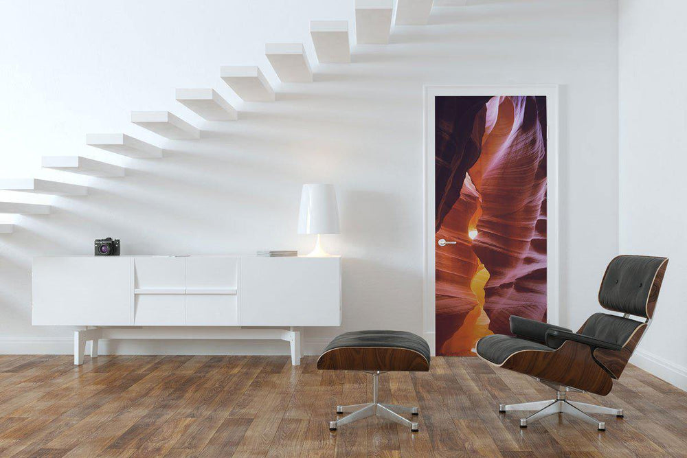 Antelope Canyon Door Mural-Landscapes & Nature-Eazywallz