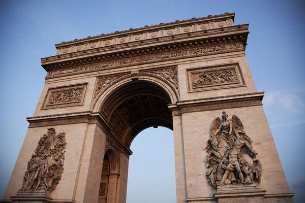Building wall murals landmark wall murals eazywallz for Arc de triomphe wall mural