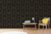 Art Deco 2 Removable Wallpaper-wallpaper-Eazywallz