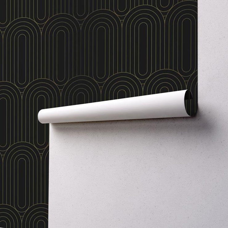 Art Deco 7 Removable Wallpaper-wallpaper-Eazywallz