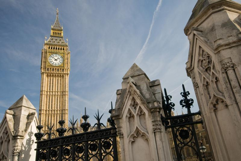 Big ben from below, England Wall Mural-Buildings & Landmarks-Eazywallz