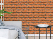 Brown Brick Removable Wallpaper-wallpaper-Eazywallz
